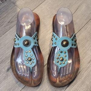 Blowfish Malibu Sandals Size 9